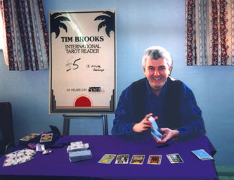 Tim Brooks, Tarot Reader
